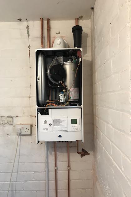 BOILER INSTALLATION - MACCLESFIELD